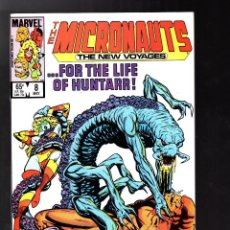 Cómics: MICRONAUTS THE NEW VOYAGES 8 - MARVEL 1985 VFN/NM. Lote 125709075