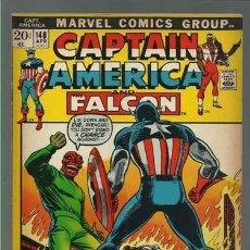 Cómics: CAPTAIN AMERICA AND THE FALCON 148, 1972, MARVEL COMICS, BUEN ESTADO. Lote 126085659