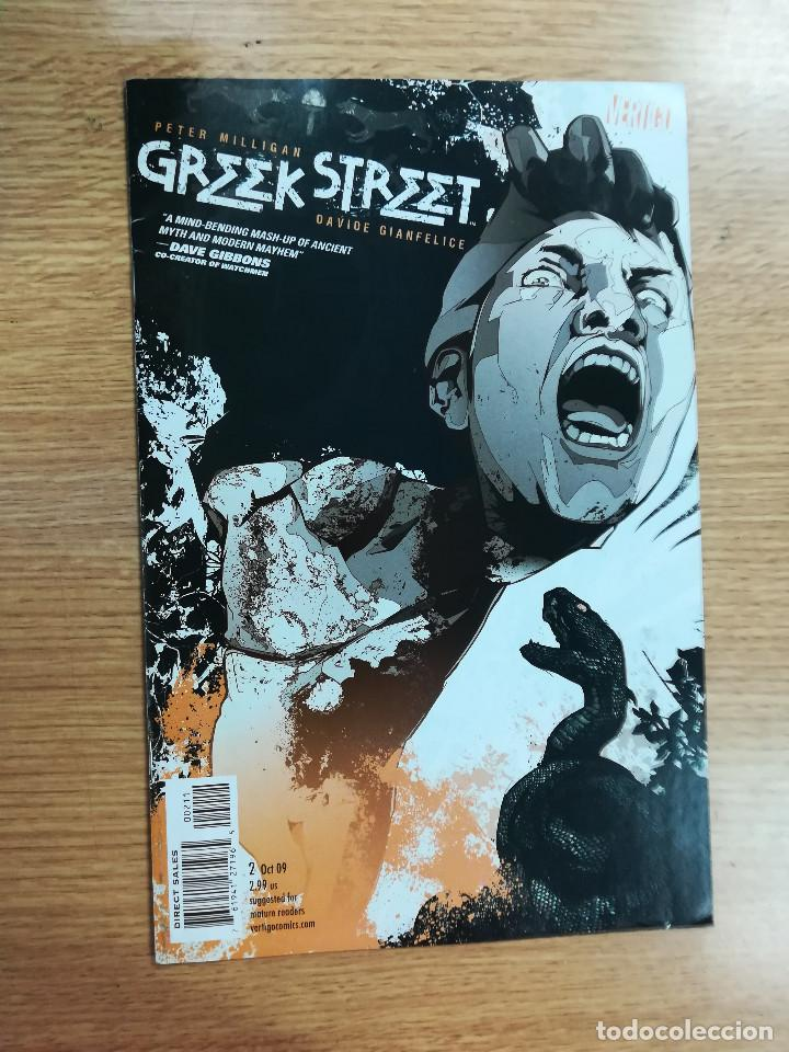 GREEK STREET (2009) #2 (Tebeos y Comics - Comics Lengua Extranjera - Comics USA)