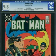 Cómics: BATMAN 368 CGC 9.8 WHITE PAGES. COMIC USA AMERICANO. DC COMICS.. Lote 126602183