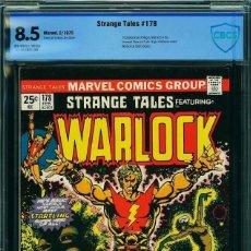 Cómics: STRANGE TALES 178 CBCS 8.5 WARLOCK. COMIC USA AMERICANO. MARVEL 1975. Lote 126688699
