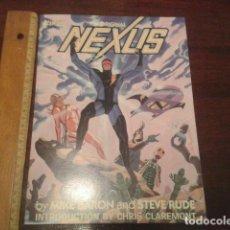 Cómics: COMIC - THE ORIGINAL NEXUS - FIRST GRAPHIC NOVEL - POR STEVE RUDE Y MIKE BARON. Lote 126953907