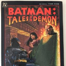 Cómics: BATMAN: TALES OF THE DEMON (TPB) 1A EDICIÓN (1991) 1ST / MUY BUEN ESTADO / DC / INGLÉS / TAPA BLANDA. Lote 127168595