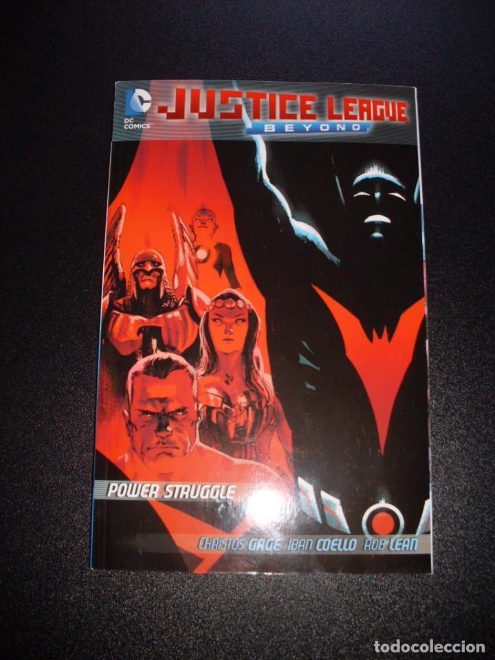 JUSTICE LEAGUE BEYOND 2.0 TPB - POWER STRUGGLE - CHRISTOS GAGE (Tebeos y Comics - Comics Lengua Extranjera - Comics USA)