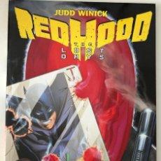 Cómics: RED HOOD THE LOST DAYS TPB (2011 DC) #1 INGLES BATMAN. Lote 127203015