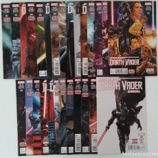 Cómics: COMPLETA - STAR WARS: DARTH VADER VOL.1 # 1 AL 25 + ANNUAL 1 + VADER DOWN ONE-SHOT (MARVEL,2015). Lote 176497392