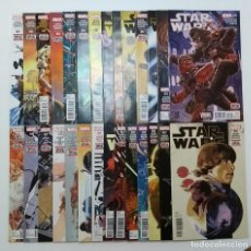 Cómics: LOTE - STAR WARS # 1 AL 39 + ANNUAL # 1 AL 3 + SCREAMING CITADEL + DOCTOR APHRA # 7 Y 8 (MARVEL). Lote 128015031