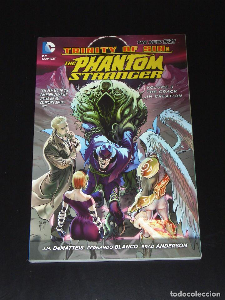 THE PHANTOM STRANGER TPB 3 - NEW 52 - J. M. DEMATTEIS - FERNANDO BLANCO (Tebeos y Comics - Comics Lengua Extranjera - Comics USA)
