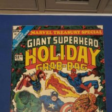 Cómics: MARVEL TREASURY SPECIAL GIANT SUPERHEROE HOLIDAY GRAB BAG (MARVEL, 1974, GRAN FORMATO). Lote 128484791