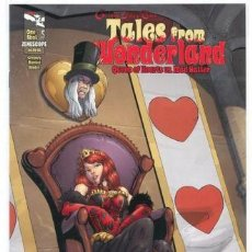 Cómics: GRIMM FAIRY TALES, TALES FROM WONDERLAND, QUEEN OF HEARTS VS MAD HATTER VF+ / NM. Lote 128686163