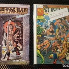Cómics: COMIC - STARSLAYERS 1 Y 2 (FIRMADO DAVE STEVENS) DE MIKE GRELL HISTORIA COMPLEMENTARIA DE ROCKETEER. Lote 129356279