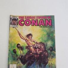 Cómics: THE SAVAGE SWORD OF CONAN,VOL. 1,Nº 135,MARVEL COMICS GROUP,AÑO 1987. Lote 130098407