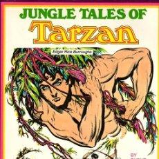 Cómics: JUNGLE TALES OF TARZAN BY BURNE HOGARTH. WATSON-GUPTILL PUBLICATIONS. 1976. Lote 130401380