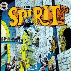 Cómics: THE SPIRIT. WILL EISNER. Nº 17. KITCHEN SINK. 1977. INGLES. Lote 130403703