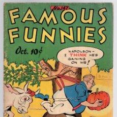 Cómics: FAMOUS FUNNIES. Nº 147. OCT. 1946. INGLES. Lote 130492091