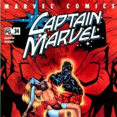 Cómics: CAPTAIN MARVEL #34, MARVEL, 2.002, USA. Lote 130758172