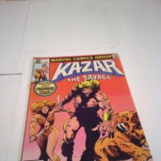 Cómics: KAZAR THE SAVAGE - NUMERO 1 - ABRIL 1981 - COMIC USA - MARVEL COMICS GROUP - MBE - GORBAUD. Lote 130898852