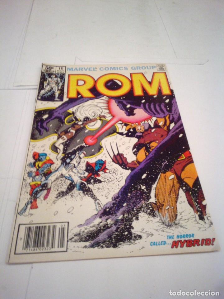 ROM - NUMERO 18 - MAYO 1981 - COMIC USA - MARVEL COMICS GROUP - MBE - GORBAUD (Tebeos y Comics - Comics Lengua Extranjera - Comics USA)