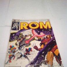 Cómics: ROM - NUMERO 18 - MAYO 1981 - COMIC USA - MARVEL COMICS GROUP - MBE - GORBAUD. Lote 130899092
