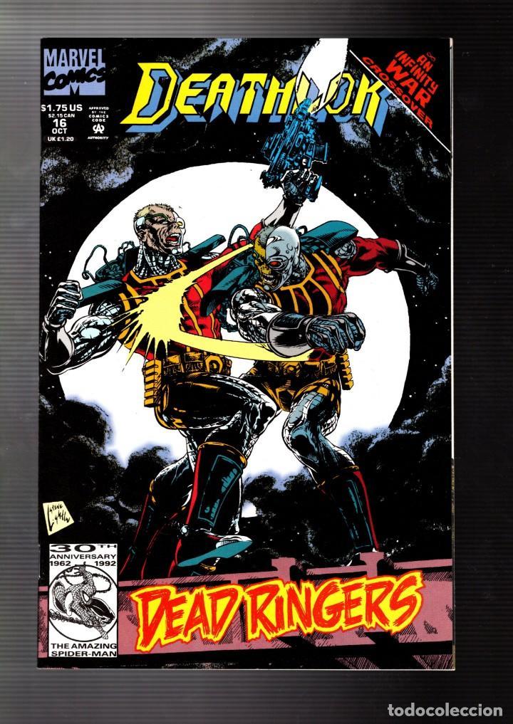 deathlok 16 - marvel 1992 vfn / vs deathlok / i - comprar comics usa
