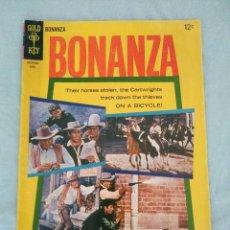 Cómics: BONANZA # 13 - GOLD KEY 1965 - CORRESPONDE A AVENTURA 413 DE NOVARO. Lote 130985992