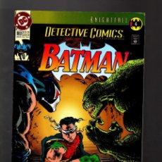 Cómics: DETECTIVE COMICS 660 BATMAN - DC 1993 FN/VFN / KNIGHTFALL. Lote 130986384