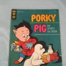 Cómics: PORKY PIG # 2 - GOLD KEY 1965. Lote 130990604