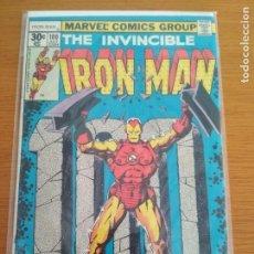 Cómics: THE INVENCIBLE IRON MAN 100 IRONMAN MARVEL MANDARIN APPEARANCE JIM STARLIN COVER NO FORUM PANINI. Lote 131377618