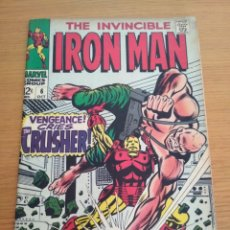 Cómics: THE INVENCIBLE IRON MAN 6 MARVEL IRONMAN 1968. Lote 131378630