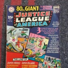 Cómics: JUSTICE LEAGUE OF AMERICA 80 PAGE GIANT #39 (1965) - REEDITA BRAVE & THE BOLD 28 Y 30 . Lote 131408482