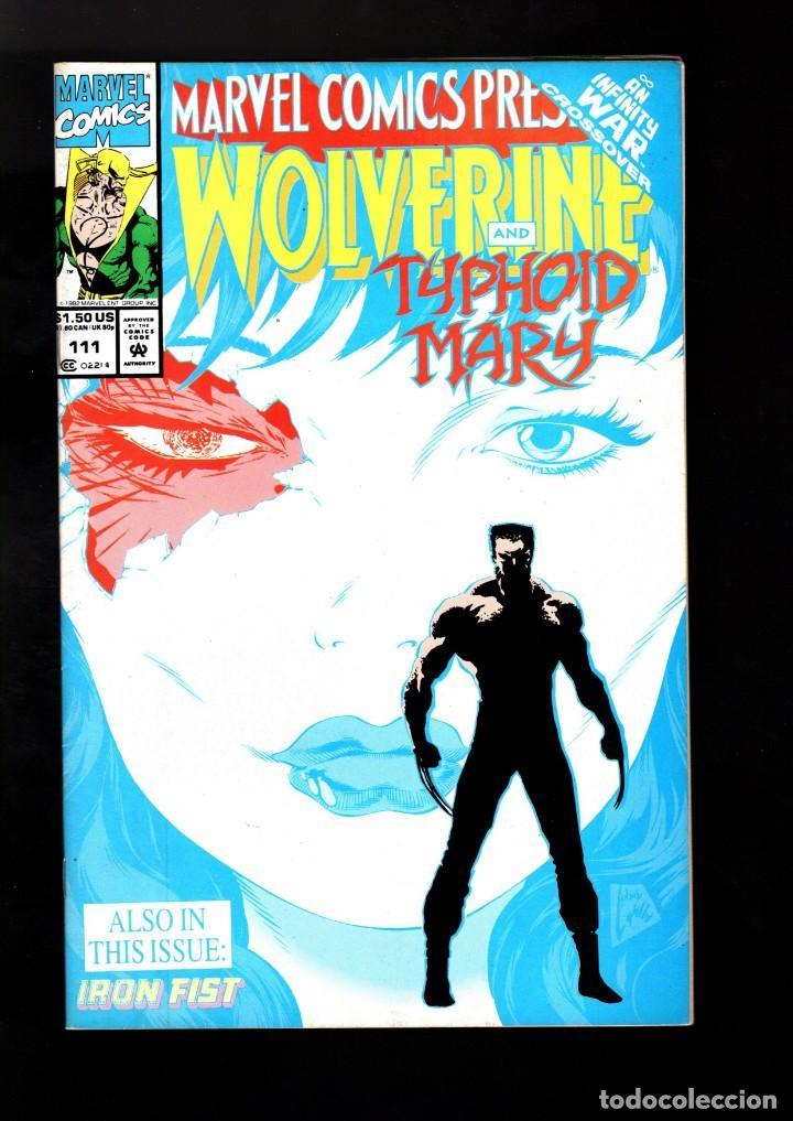 marvel comics presents 111 - 1992 vfn / wolveri - comprar comics usa