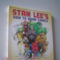 Cómics: STAN LEE´S HOW TO DRAW COMICS. Lote 131704922
