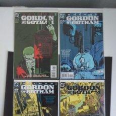 Cómics: BATMAN: GORDON OF GOTHAM, COLECCIÓN DE GRAPA COMPLETA, EN INGLÉS. Lote 132145494