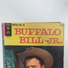Cómics: BUFFALO BILL JR. #1 - GOLD KEY COMIC ORIGINAL EN INGLÉS - NO NOVARO. Lote 132175722