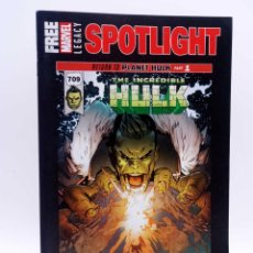 Cómics: FREE MARVEL LEGACY SPOTLIGHT RETURN TO PLANET HULK MARVEL, 2017. VF. Lote 132534797