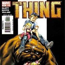 Cómics: US MARVEL: THE THING VOLUME 2 NUMERO 4. LA COSA.LOS 4 FANTASTICOS. MARVEL COMIC EN INGLES.. Lote 132720634