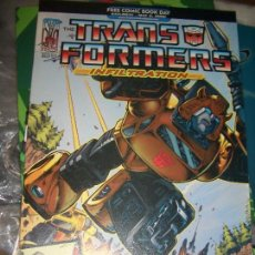 Cómics: FREE COMIC DAY - TRANSFORMERS INFILTRATION. Lote 133004990