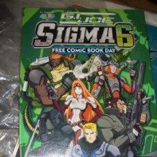 Cómics: FREE COMIC DAY - G.I. JOE SIGMA 6. Lote 133009654