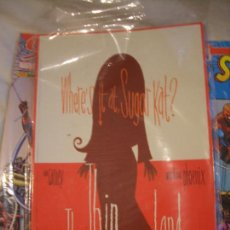 Cómics: WHERE IS AT, SUGAR KAT? THE THIN OF THE LAND (SLG PUBLISHING, 2002). Lote 133095502