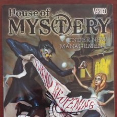 Cómics: THE HOUSE OF MYSTERY UNDER NEW MANAGEMENT 1. EN INGLÉS. Lote 133152010