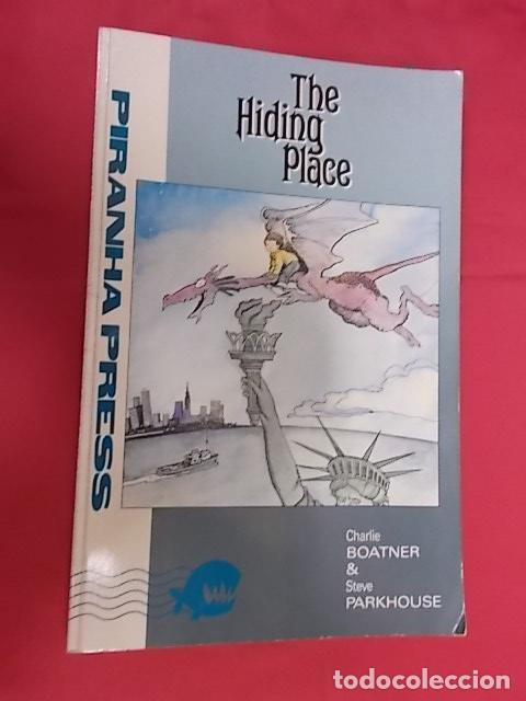 THE HIDING PLACE. CHARLIE BOATNER & STEVE PARMHOUSE. PIRANHA PRESS (Tebeos y Comics - Comics Lengua Extranjera - Comics USA)
