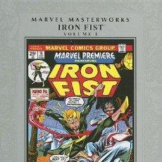 Cómics: IRON FIST Nº 1. MARVEL MASTERWORKS MUY BUEN ESTADO TAPA DURA CON SOBRECUBIERTA. Lote 133544466