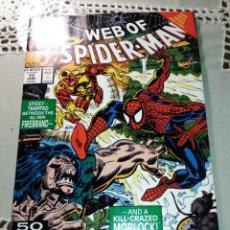 Cómics: WEB OF SPIDERMAN 77 MARVEL / SPIDER MAN VER FOTOS. Lote 133595230