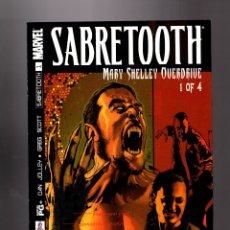 Cómics: X-MEN : SABRETOOTH MARY SHELLEY OVERDRIVE 1 - MARVEL 2002 VFN/NM. Lote 133694450