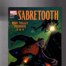 Cómics: X-MEN : SABRETOOTH MARY SHELLEY OVERDRIVE 4 - MARVEL 2002 VFN-. Lote 133694566