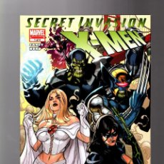 Cómics: X-MEN : SECRET INVASION 1 - MARVEL 2008 VFN/NM. Lote 133694814
