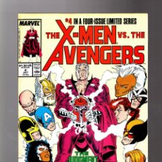 Cómics: X-MEN VS AVENGERS 4 - MARVEL 1987 VFN. Lote 133696170