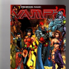 Cómics: VAMPI 1 - HARRIS 2000 VFN/NM VARIANT COVER. Lote 133760918