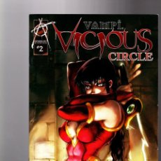 Cómics: VAMPI VICIOUS CIRCLE 2 - ANARCHY 2004 VFN/NM LIMITED EDITION VARIANT COVER. Lote 133762106