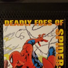 Cómics: COMIC - SPIDER-MAN - DEADLY FOES OF SPIDER-MAN MARVEL COMICS TPB 1ST PRINT PUNISHER KINGPIN 1994. Lote 133853241